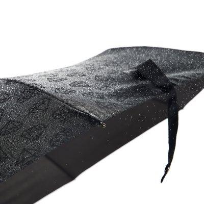 Paraply Wet Diamond fra Happy Sweeds med bilde av sort paraply med diamaner på