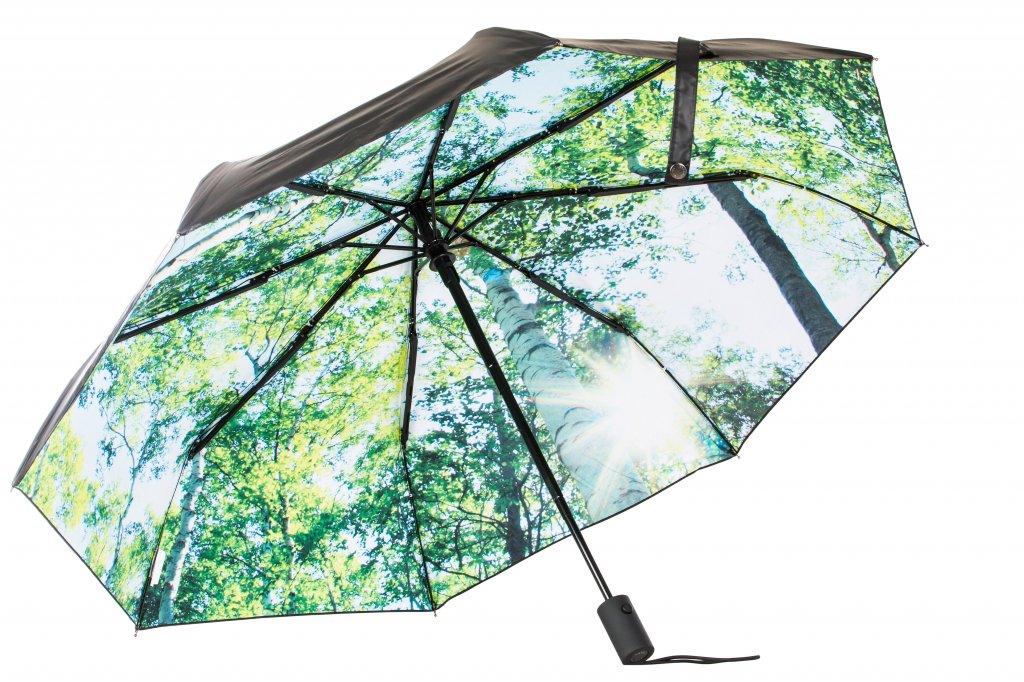 Paraply Forest fra Happy Sweeds med bilde av en skog