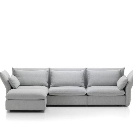 Mariposa sofa fra Vitra, 3-seter med chaiselong
