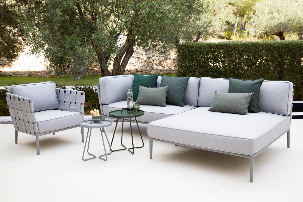 on the move og conic lounge sofa fra caneline