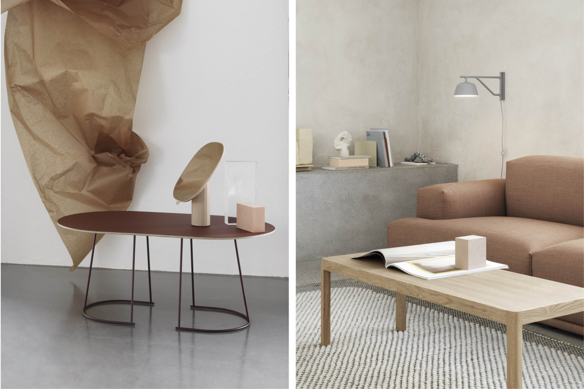muuto sofabord airy workshop coffee table