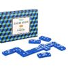 Domino spill i en retroinspirert ask
