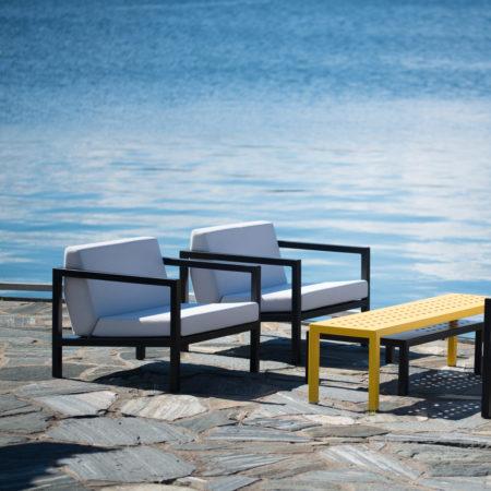 Frame Lounge stol