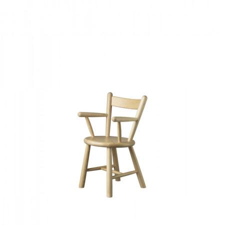 Barnestolen P9 fra FDB Møbler i malt bøk