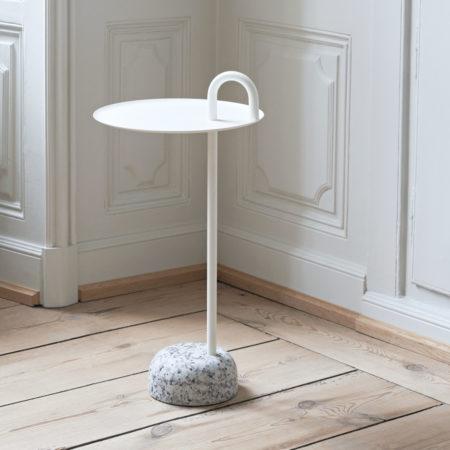 Bowler Table Cream White