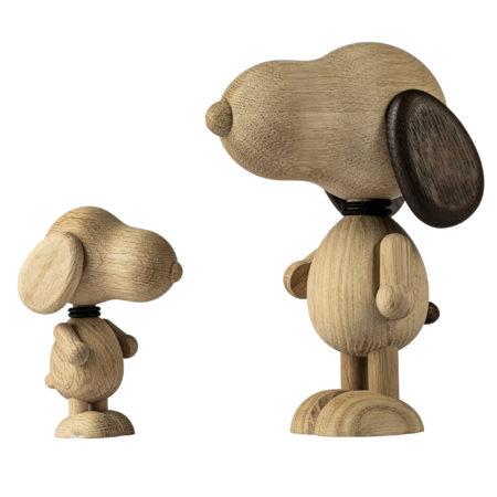 mr. Beagle fra Boyhood i naturlig eik - Stor og liten figur