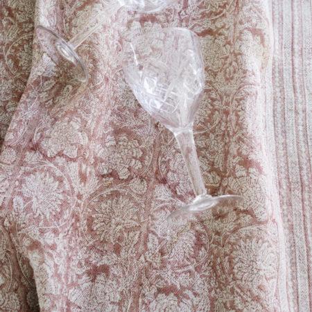 Miljøbilde av Paradise linduk i fargen rose fra Chamois