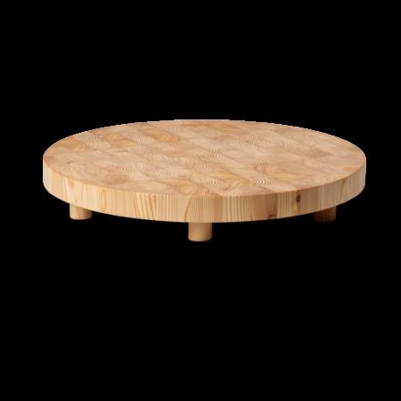Chess cutting board fra Ferm Living. Rundt