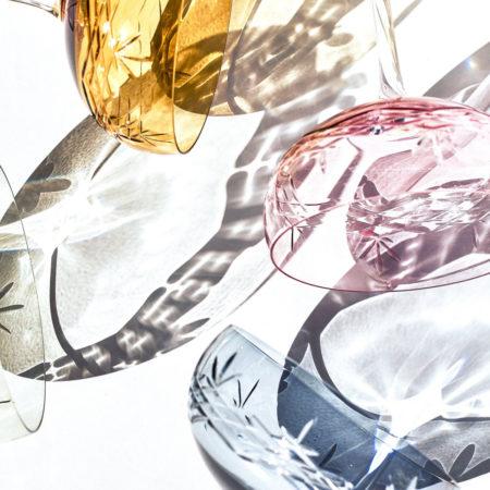 Crispy Gatsby Champagneglass i krystall fra glasserien Crispy fra Frederik Bagger i flere farger