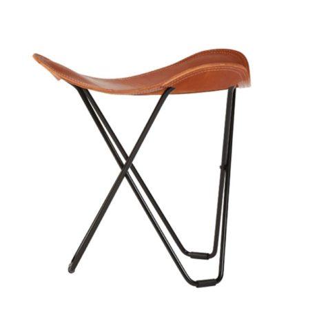 Krakken Pampa i skinn i brunfargen polo fra Cuero Design.