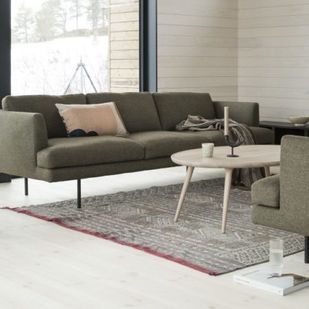 Sofaen Fri i grønt fra LK Hjelle