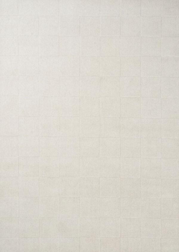 Luzern teppe i ull fra Linie Design i fargen White