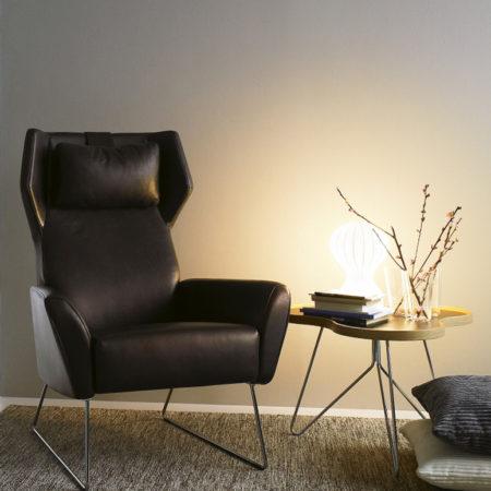 Select lenestol fra Swedese i stue miljø