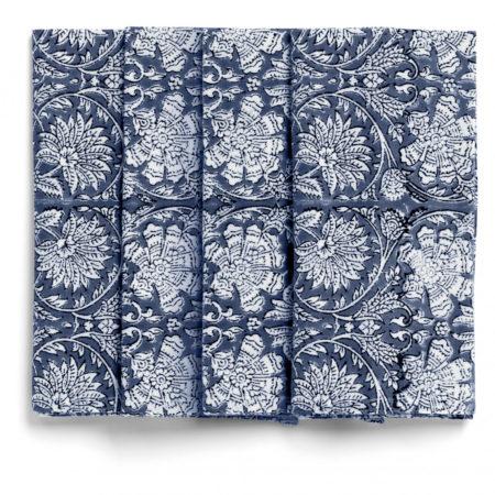 Tøyserviett Paradise fra Chamois i blått og hvitt