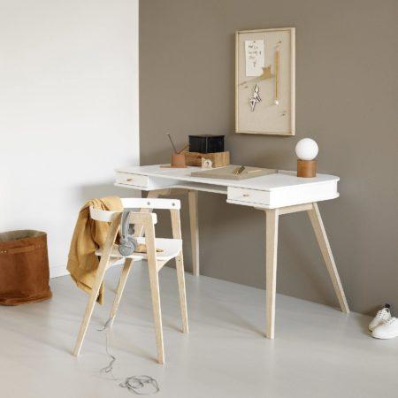 Wood skrivebord fra Oliver Furniture