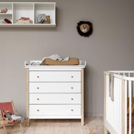 Wood stellekommode fra Oliver Furniture