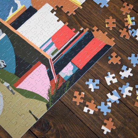 Bilde av puslespill Yoro Park fra Slowdown Studio