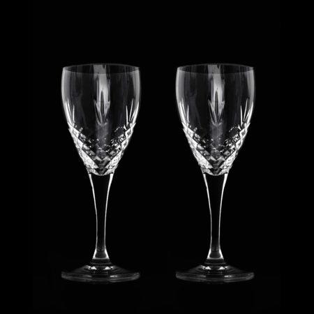 Crispy White. Hvitvinsglass i krystall fra Frederik Bagger.