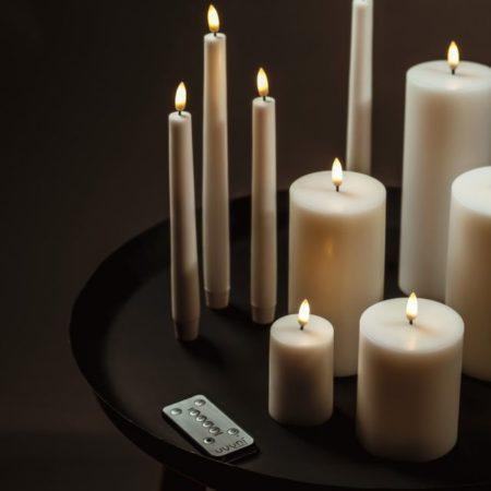 Batteridrevet stearinlys fra Uyuni Lighting