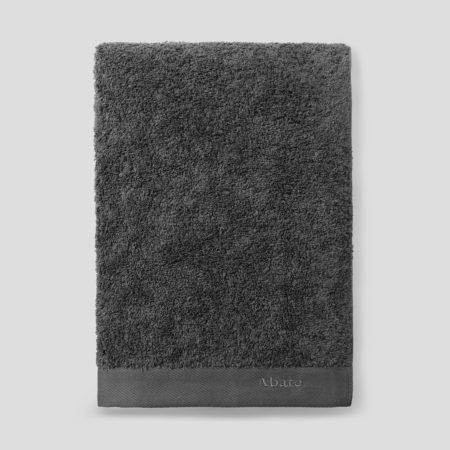 Mørkegrått håndkle fra Abate