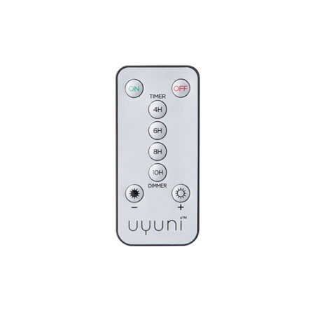 Fjernkontroll til batteridrevne lys fra Uyuni